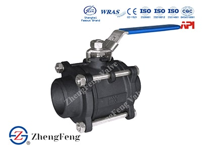 Three Piece Floating Ball Valve