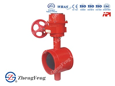 Groove Butterfly Valve