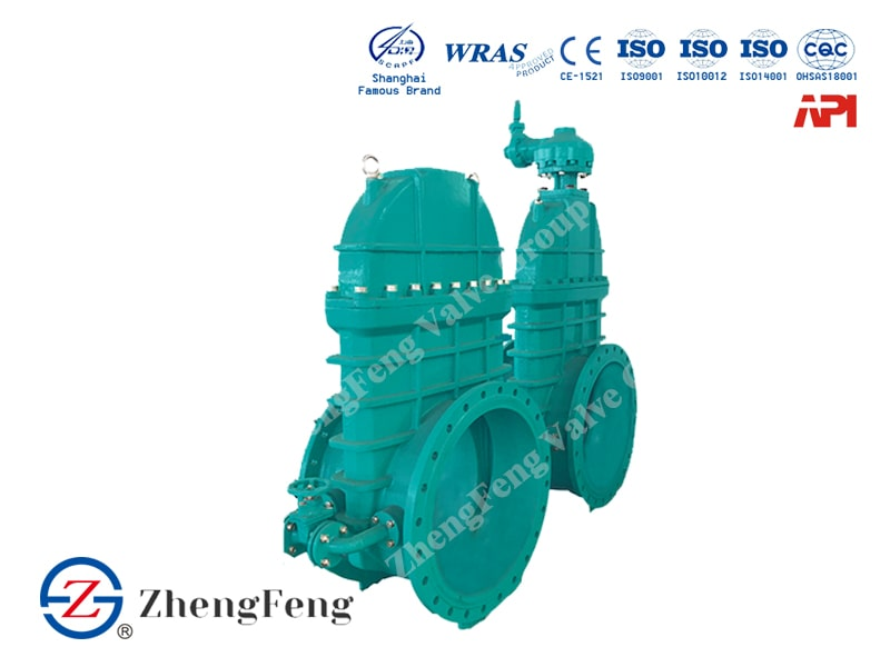Large Resilient Seated Gate Valve
