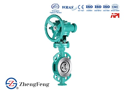 Wafer Triple Offset Butterfly Valve